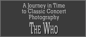 The Who header